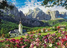 King Dolomites, Kollfusch Jigsaw Puzzle (1000 Pieces)