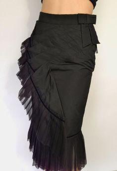 Ruffled Bow Skirt.