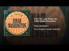 If It's The Last Thing I Do (1995 Digital Remaster) Ella