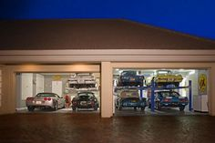 Garage pics - Page 21 - LotusTalk - The Lotus Cars Community Garage Shop, Garage House, Dream Garage, Car Garage, Garage Doors, Garage Floor Finishes, Garage Floor Epoxy, Cool Garages, Custom Garages