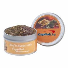 Shop at Deluxe for the Gourmet Spice Rubs Tin that can be customized with your logo or personalized message. Order Gourmet Spice Rubs Tin in bulk at wholesale prices today. Spice Rub, Food Gifts, Spice Things Up, Beef Recipes, Poultry, Spices, Veggies, Tins, Eat