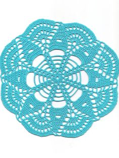 Christmas gift Crochet doily lace doilies decoration by DoilyWorld