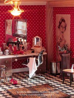 Nukkekoti Väinölä : Dollhouse Väinölä