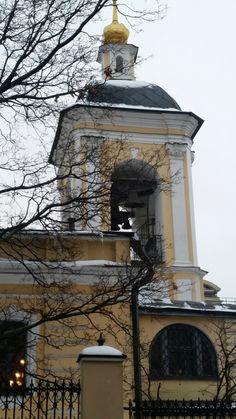 Церковь Николая Светителя в Звонарях. Church of St. Nicholas in the Zvonary.