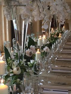 Weddings by www.blomsterdesigns.co.uk designed by Floral designer Russell New join us on Facebook instgram & Twitter