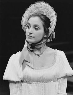 Lucy Peacock as Mrs. Sullen in The Beaux' Stratagem, 1985  Director: Edwin Stephenson Designer: Lesley Macauley Photo: David Cooper  #tbt #TheatreThursday