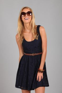 Cotton On lace knit dress. Have it in navy and purple. Love!