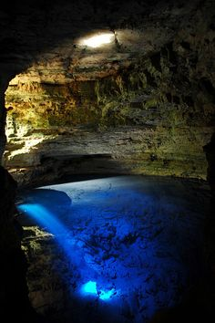 Poço Encantado Cave, Brazil