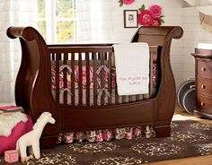 Find baby girl nursery ideas and more at Pottery Barn Kids. Prepare for your baby girl and shop our baby girl room inspiration. Pottery Barn Nursery, Pottery Barn Kids, Girl Nursery Bedding, Girls Bedroom, Boho Nursery, Gate Design, Baby Shower Labels, Toddler Quilt, Baby Room Decor