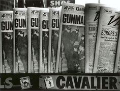 William KLEIN :: Gun, Gun, Gun, New York, 1955 [MoMA] more [+] by this photographer