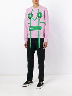Walter Van Beirendonck Sweatshirt mit Zierbändern