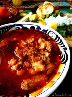 #cocina #menudo #piña #rojo #la #en Menudo Rojo - La Piña en la CocinaYou can find Menudo recipe authentic and more on our website.Menudo Rojo - La Piña en la Cocina Homemade Menudo Recipe, Homemade Tacos, Mexican Menudo Recipe, Mexican Dishes, Mexican Food Recipes, Mexican Cooking, Menudo Recipe Authentic, Beef Tripe, Kitchens