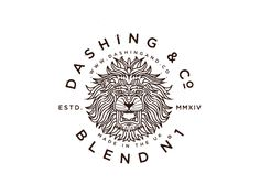 Dashing & Co. Lion Badge final by Brian Steely