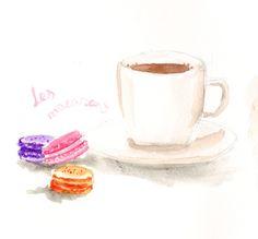 Coffee, Macarons!