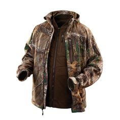 57b71f417fe 12-Volt Cordless Realtree Xtra® Camo 3-in-1 Heated Jacket Only