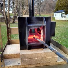 make your own backyard forge