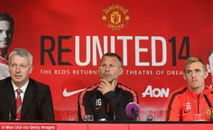 Ryan Giggs takes charge in Van Gaal's absence at Manchester United