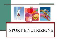 SPORT E NUTRIZIONE. MANGIARE DA ATLETA Una delle condizioni fondamentali per praticare bene unattività sportiva, è quella di alimentarsi correttamente.