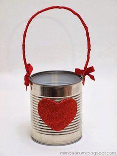 DIY: Reciclar una Lata de conservas - DIY: Recycled Cans (via Bloglovin.com )