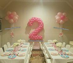 2nd Birthday Tea Party Tea Party Birthday, Balloons, Home Decor, Homemade Home Decor, Interior Design, Home Interiors, Balloon, Decoration Home, Home Decoration