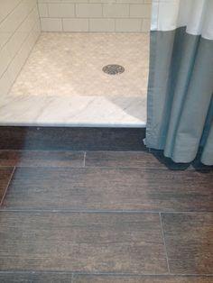 Wood looking tile - Bathrooms Forum - GardenWeb