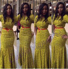Colorful, Trendy, Stylish & Ultra-Lovely Aso-Ebi Styles - Wedding Digest NaijaWedding Digest Naija