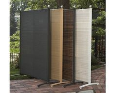 Outdoor Wicker Partition $149