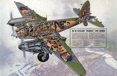 De Havilland 'Mosquito' Light Bomber – Vintagraph