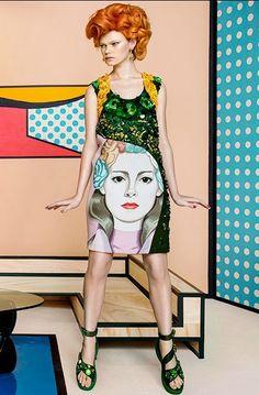 """Pop Art"" Kelly Mittendorf L'Officiel Singapore March 2014"
