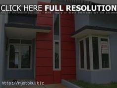 warna cat rumah minimalis merah outdoor indoor012
