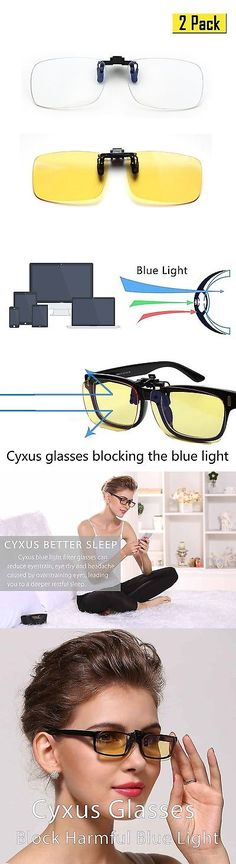 Other Vision Care: Cyxus (2 Pack) Blue Light Filter Clip-On Computer Reading Glasses Uv Blocking... -> BUY IT NOW ONLY: $34.35 on eBay!