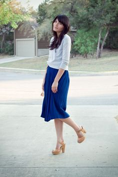 I must have a thing for pleats. And this is such a great version.