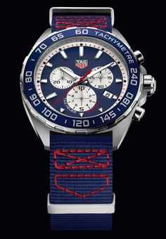 CAZ1018.FC8213 THF1 tag heuer SPECIAL EDITION RED BULL TEXTILE STRAP - PACKSHOT 2016