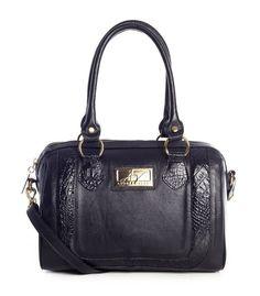 Bolsa Chessy em couro legítimo Andrea Vinci cor preta - Enluaze Loja Virtual | Bolsas, mochilas e pastas