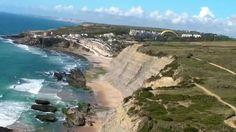 Voo de Parapente nas Falésias da Aguda, Azenhas do Mar, Magoito (Portugal)
