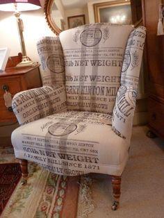 Wingback Armchair on Pinterest | Parker Knoll Chair, Modern Shower ...