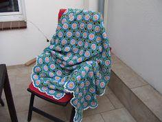 My world of crochet: Tadaaah! Tagesdecke Nr. 6