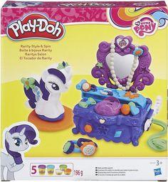 Купить Play-Doh Набор для лепки Туалетный столик Рарити в интернет-магазине OZON.ru