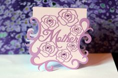 Mother's Day Card by iriscristata at @studio_calico - a Silhouette project