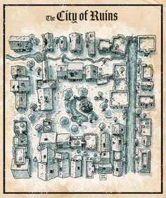 Miska Fredman – Page 9 – RPG Cartography & Design Fantasy Map Making, Fantasy City Map, Fantasy Town, Fantasy Rpg, Dungeons And Dragons Homebrew, D&d Dungeons And Dragons, Plan Ville, Underground Map, Village Map