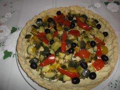 """""""RICETTE BIMBY - TORTA SALATA CON ZUCCHINE E PEPERONI"""" pasta brisée,torta salata,peperoni,zucchine,capperi,erbe aromatiche,ricette bimby - ricette con il bimby - torta salata con il bimby,piatto unico,antipasto,secondo piatto"""