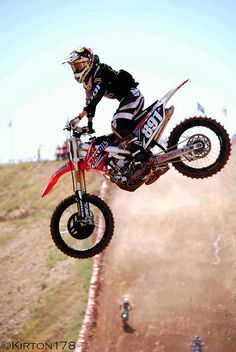 Kiss the sky with Motocross.