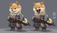 Shiba, M ZM on ArtStation at https://www.artstation.com/artwork/4d281