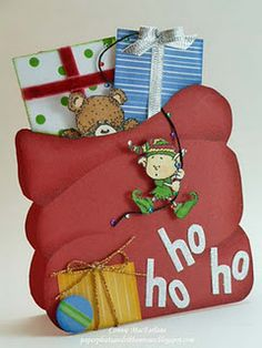 This is my favorite CTMH Christmas stamp set!