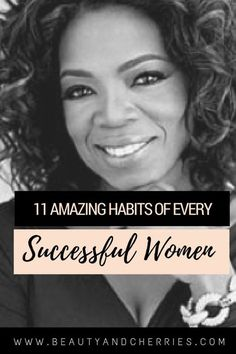 PIN THIS! If you want to be successful you need to form habts that will help you achieve your goals. Here are 11 Habits of Highly Successful Women