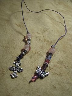 How to Make a Bead Bookmark and Beaded Keychain