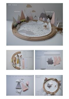 DIY winter landscape by La maison de Loulou