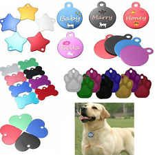 New Fashion Custom Personalized Pet ID Tags Dog Cat Animal Name Tag with Ring