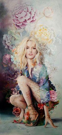 Ƹ̵̡Ӝ̵̨̄Ʒ • Må®¢ë££å™ • Ƹ̵̡Ӝ̵̨̄Ʒ Australian Art, New Artists, Woman Painting, Figurative Art, Original Artwork, Original Paintings, Female Art, Cool Art, Awesome Art