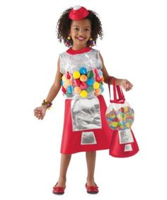 gumball machine girls costume